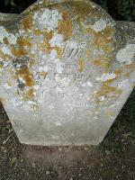 Martha Cubitt grave
