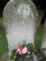 Benjamin Sharpe grave